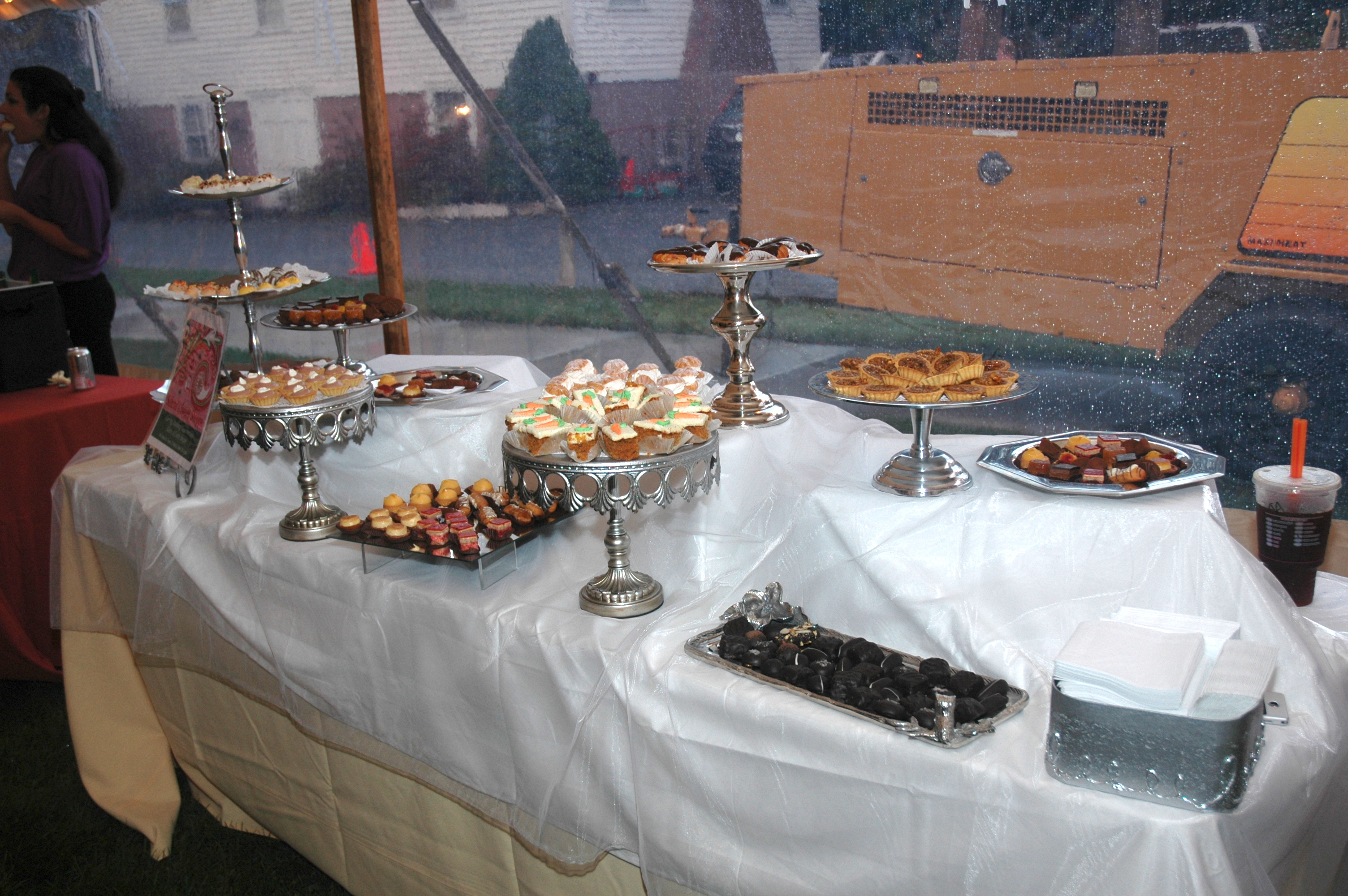 Shad Bake Dessert Table